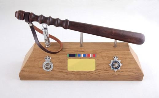 Hand-made Personalised Police Retirement Gifts - Gloucestershire ...